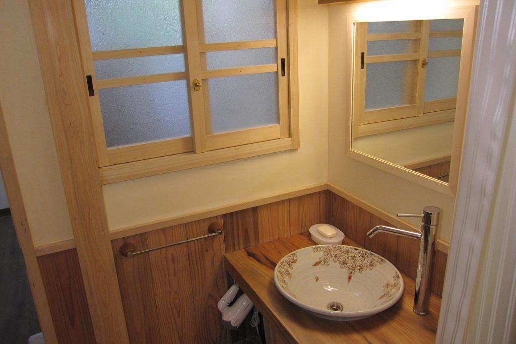 京町家の宿 洗面