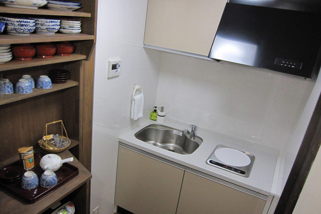 一棟貸切の宿 台所