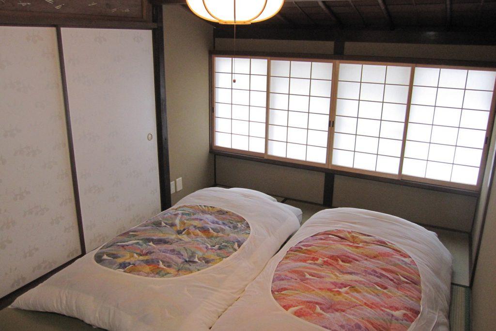 京町家の宿 一棟貸し切りの宿 幸遊庵 寝室 写真