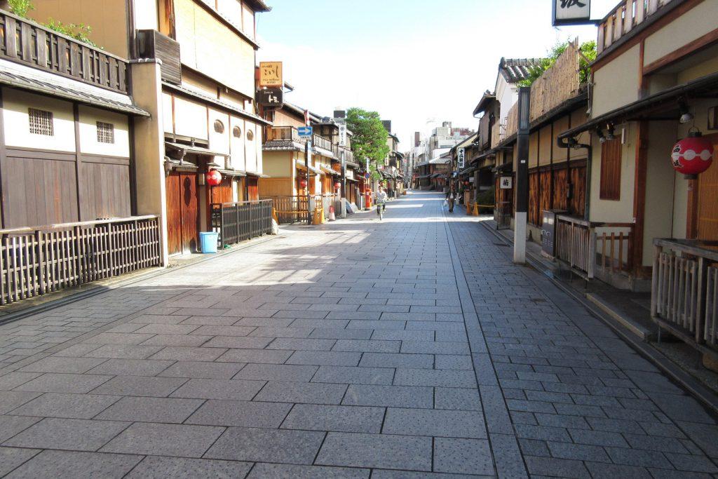 京都・祇園 花見小路 写真