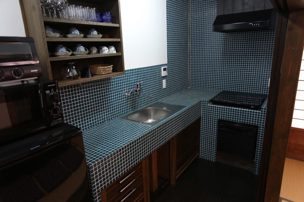貸し切りの宿 自由に使える台所