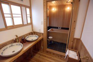 雅樂庵 浴室 2階